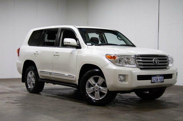 Used Toyota Landcruiser VDJ200R MY13 Sahara, 2015 Toyota Landcruiser VDJ200R MY13 Sahara White 6 Speed Sports Automatic Wagon