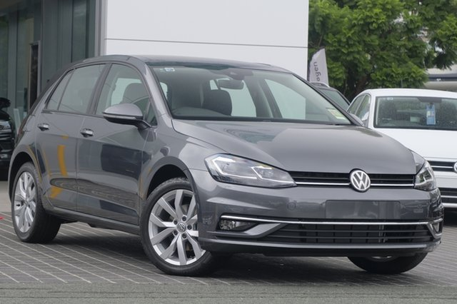 New Volkswagen Golf 7.5 MY19.5 110TSI DSG Comfortline, 2019 Volkswagen Golf 7.5 MY19.5 110TSI DSG Comfortline Indium Grey 7 Speed
