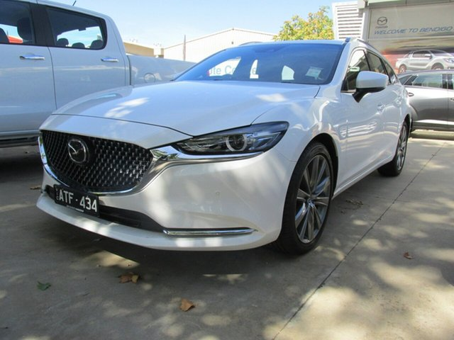 Demo Mazda 6  Atenza (5Yr), 2018 Mazda 6 ATENZA Atenza (5Yr) White 6 Speed Automatic Wagon