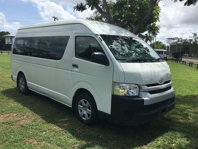 Used Toyota HiAce KDH223R MY14 Commuter, 2014 Toyota HiAce KDH223R MY14 Commuter White 5 Speed Manual Bus