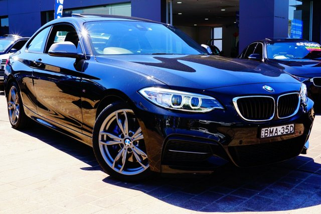 Used BMW M235i F22 , 2014 BMW M235i F22 Black 8 Speed Sports Automatic Coupe