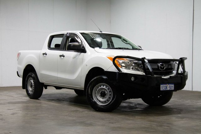 Used Mazda BT-50 UP0YF1 XT, 2014 Mazda BT-50 UP0YF1 XT White 6 Speed Sports Automatic Utility