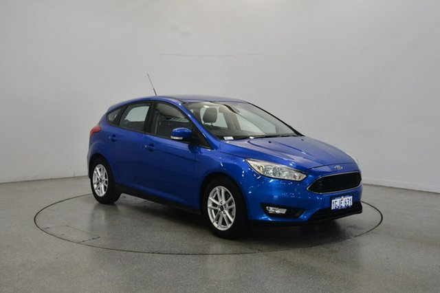 Used Ford Focus LZ Trend, 2017 Ford Focus LZ Trend Winning Blue 6 Speed Automatic Hatchback