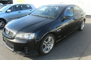 2010 Holden Commodore VE MY10 SV6 Black 6 Speed Manual Sedan.