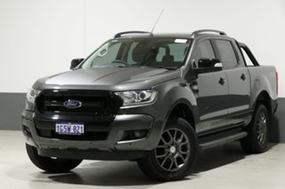 2017 Ford Ranger PX MkII MY17 FX4 Special Edition Grey 6 Speed Manual Dual Cab Utility.