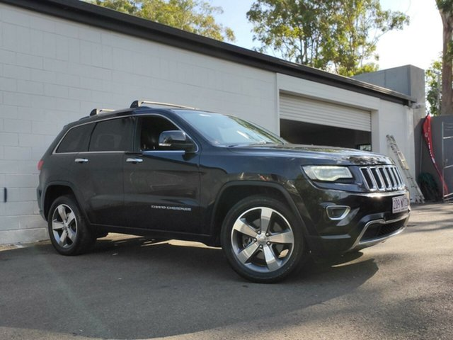Used Jeep Grand Cherokee WK MY2014 Limited, 2014 Jeep Grand Cherokee WK MY2014 Limited Metallic Black 8 Speed Sports Automatic Wagon