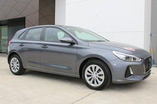 2018 Hyundai i30 GO S.SENSE Iron Gray 7 Speed Automatic Hatchback.