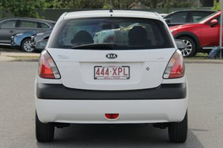 2007 Kia Rio JB MY07 LX White 5 Speed Manual Hatchback