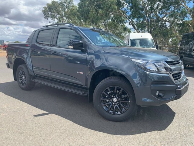 New Holden Colorado RG MY19 Z71 Pickup Crew Cab, 2019 Holden Colorado RG MY19 Z71 Pickup Crew Cab Dark Shadow Grey 6 Speed Sports Automatic Utility