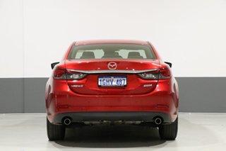 2016 Mazda 6 6C MY17 (gl) Atenza Soul Red 6 Speed Automatic Sedan
