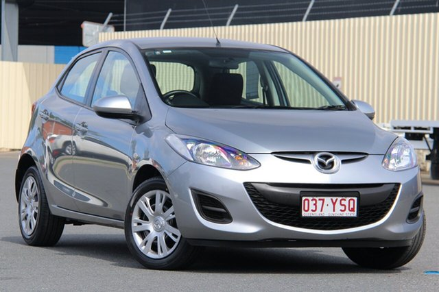 Used Mazda 2 DE10Y2 MY13 Neo, 2013 Mazda 2 DE10Y2 MY13 Neo Aluminium 5 Speed Manual Hatchback