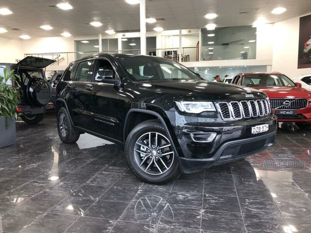 Used Jeep Grand Cherokee WK MY18 Laredo (4x4), 2018 Jeep Grand Cherokee WK MY18 Laredo (4x4) Diamond Black Crystal 8 Speed Automatic Wagon