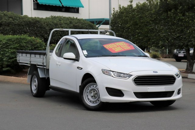Used Ford Falcon FG X Super Cab, 2016 Ford Falcon FG X Super Cab Winter White 6 Speed Sports Automatic Cab Chassis