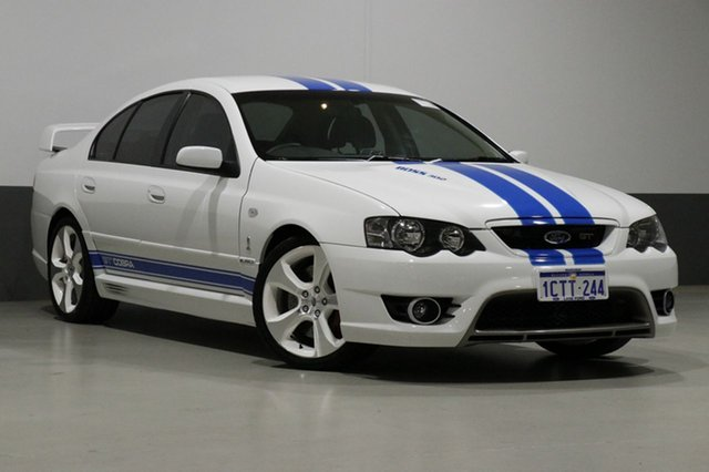 Used FPV GT BF MkII Cobra, 2008 FPV GT BF MkII Cobra White 6 Speed Manual Sedan