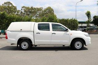 2013 Toyota Hilux KUN16R MY14 SR Double Cab 4x2 Glacier 5 Speed Manual Utility