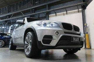 2011 BMW X5 E70 MY12 xDrive30d Steptronic Silver 8 Speed Sports Automatic Wagon