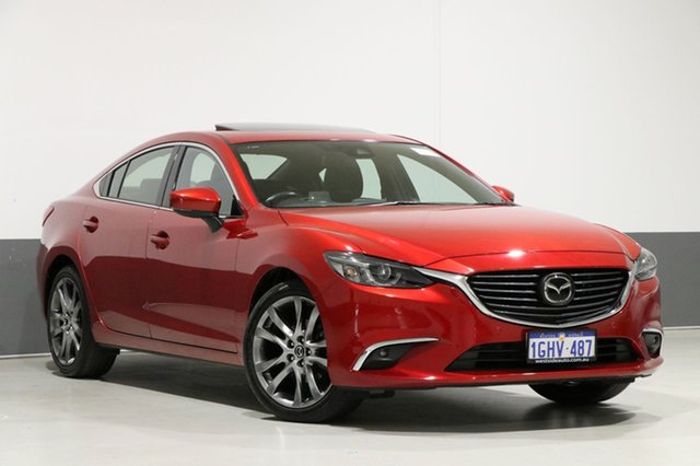 Used Mazda 6 6C MY17 (gl) Atenza, 2016 Mazda 6 6C MY17 (gl) Atenza Soul Red 6 Speed Automatic Sedan