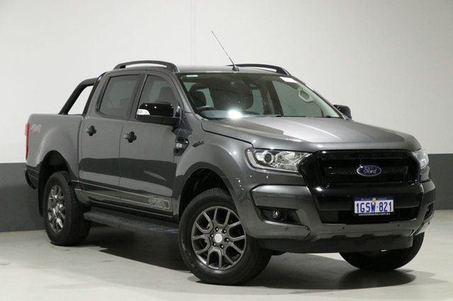 Used Ford Ranger PX MkII MY17 FX4 Special Edition, 2017 Ford Ranger PX MkII MY17 FX4 Special Edition Grey 6 Speed Manual Dual Cab Utility