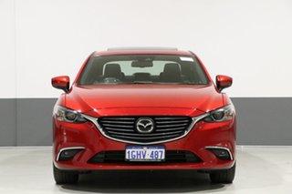 2016 Mazda 6 6C MY17 (gl) Atenza Soul Red 6 Speed Automatic Sedan.