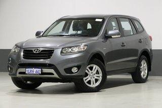 2012 Hyundai Santa Fe CM MY12 SLX CRDi (4x4) Grey 6 Speed Automatic Wagon.