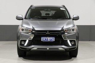 2018 Mitsubishi ASX XC MY18 LS (2WD) Titanium Continuous Variable Wagon.