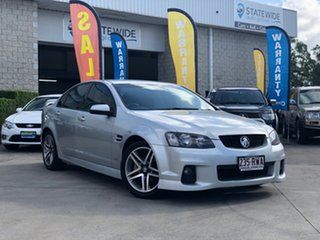 2011 Holden Commodore VE II SV6 Silver 6 Speed Manual Sedan.