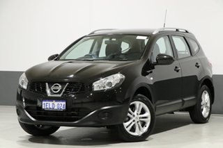 2014 Nissan Dualis J10 MY13 +2 ST (4x2) Black 6 Speed CVT Auto Sequential Wagon.