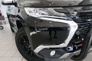 2018 Mitsubishi Pajero Sport QE MY19 Black Edition Pitch Black 8 Speed Sports Automatic Wagon.