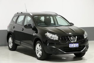 2014 Nissan Dualis J10 MY13 +2 ST (4x2) Black 6 Speed CVT Auto Sequential Wagon