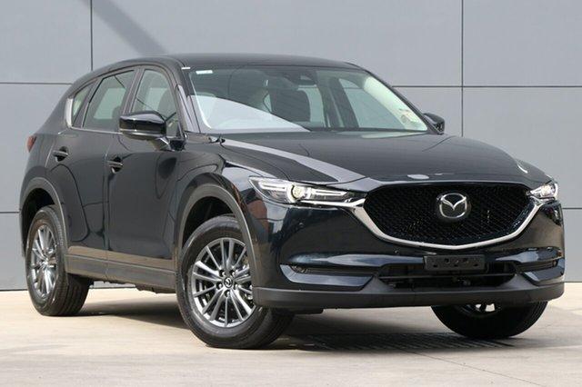 Demo Mazda CX-5 KF4WLA Touring SKYACTIV-Drive i-ACTIV AWD, 2018 Mazda CX-5 KF4WLA Touring SKYACTIV-Drive i-ACTIV AWD Jet Black 6 Speed Sports Automatic Wagon