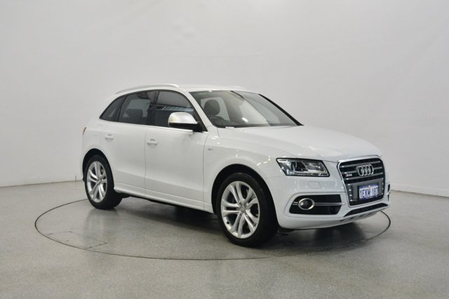 Used Audi SQ5 8R MY14 TDI Tiptronic Quattro, 2014 Audi SQ5 8R MY14 TDI Tiptronic Quattro White 8 Speed Sports Automatic Wagon