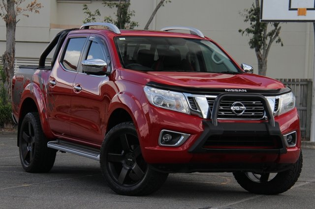 Used Nissan Navara D23 S3 ST-X, 2018 Nissan Navara D23 S3 ST-X Red 7 Speed Sports Automatic Utility