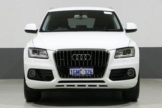 2016 Audi Q5 8R MY17 2.0 TDI Quattro Ibis White 7 Speed Auto Dual Clutch Wagon.