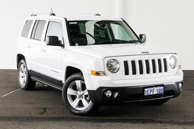 Used Jeep Patriot MK MY14 Limited (4x4), 2014 Jeep Patriot MK MY14 Limited (4x4) 6 Speed Automatic Wagon