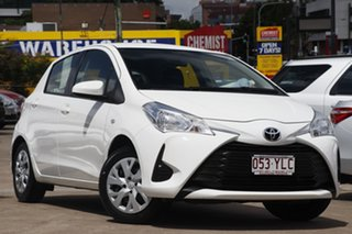 2017 Toyota Yaris NCP130R Ascent Glacier 4 Speed Automatic Hatchback.