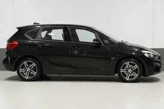 2016 BMW 218i F45 Active Tourer Sport Line Black 6 Speed Automatic Wagon