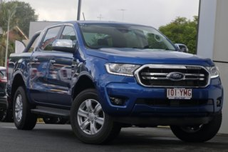 2018 Ford Ranger PX MkIII 2019.00MY XLT Pick-up Double Cab Blue Lightning 10 Speed Sports Automatic.