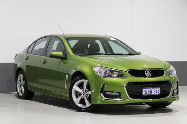 Used Holden Commodore VF II SV6, 2016 Holden Commodore VF II SV6 Green 6 Speed Automatic Sedan