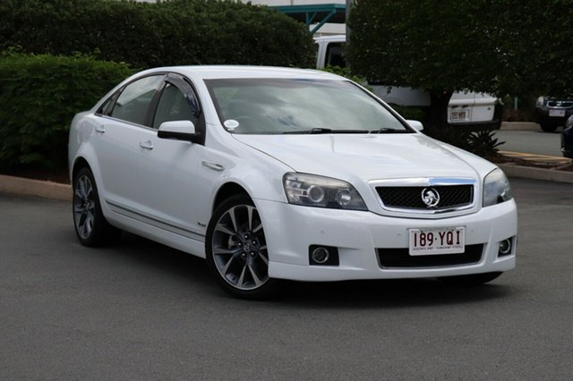 Used Holden Caprice WM II V, 2010 Holden Caprice WM II V White 6 Speed Sports Automatic Sedan