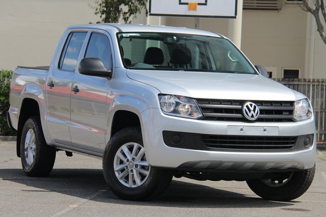 Used Volkswagen Amarok 2H MY16 TDI420 4MOTION Perm Core, 2015 Volkswagen Amarok 2H MY16 TDI420 4MOTION Perm Core Silver 8 Speed Automatic Utility