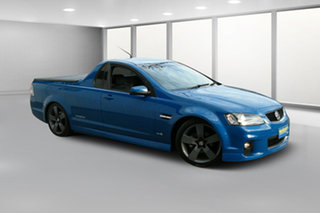 2012 Holden Ute VE II SV6 Thunder Blue Mica 6 Speed Manual Utility.