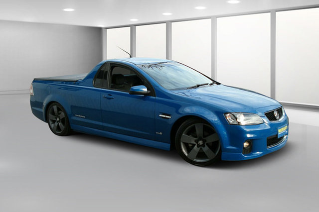 Used Holden Ute VE II SV6 Thunder, 2012 Holden Ute VE II SV6 Thunder Blue Mica 6 Speed Manual Utility