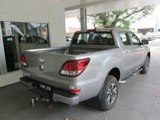 2018 Mazda BT-50 XTR XTR HI-Rider (4x2) (5YR) Silver 6 Speed Automatic Dual Cab Utility.