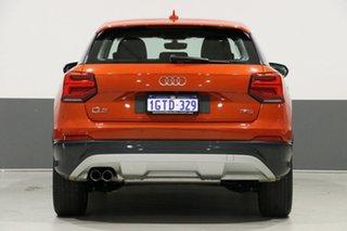 2017 Audi Q2 GA MY18 1.4 TFSI Design Orange 7 Speed Auto S-Tronic Wagon
