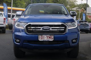 2018 Ford Ranger PX MkIII 2019.00MY XLT Pick-up Double Cab Blue Lightning 10 Speed Sports Automatic