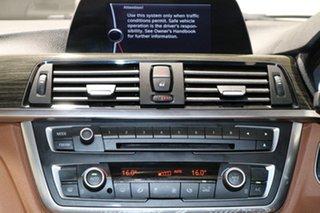 2012 BMW 320i F30 Luxury Line Black 8 Speed Automatic Sedan