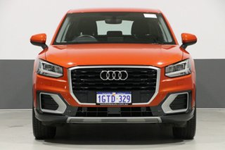 2017 Audi Q2 GA MY18 1.4 TFSI Design Orange 7 Speed Auto S-Tronic Wagon.