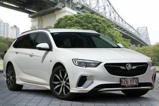 2017 Holden Commodore ZB MY18 RS Sportwagon White 9 Speed Sports Automatic Wagon.