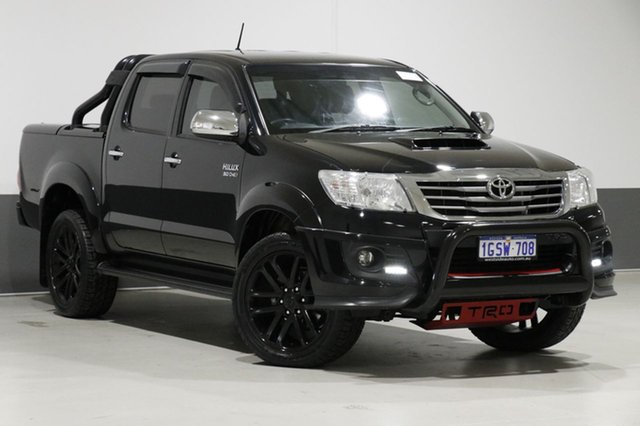 Used Toyota Hilux KUN26R MY14 SR5 Black (4x4), 2014 Toyota Hilux KUN26R MY14 SR5 Black (4x4) Black 5 Speed Automatic Dual Cab Pick-up