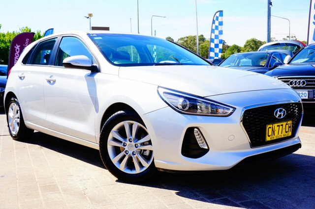 Used Hyundai i30 PD MY18 Active D-CT, 2017 Hyundai i30 PD MY18 Active D-CT Silver 7 Speed Sports Automatic Dual Clutch Hatchback